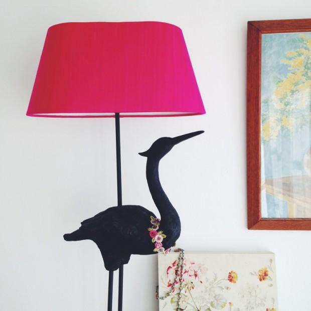 Beautiful Silk Lampshade
