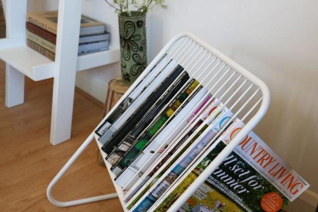 Minimalist-magazine-rack