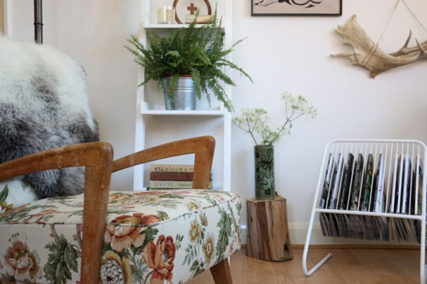 Mixing modern and vintage