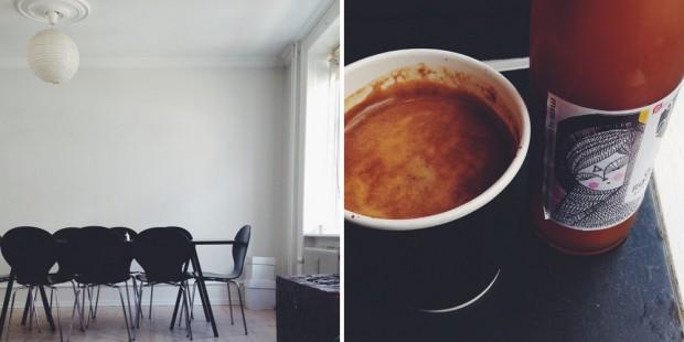 Coffee and scandinavian style