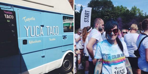 Yuca Taco and Colour Run Copenhagen 2014