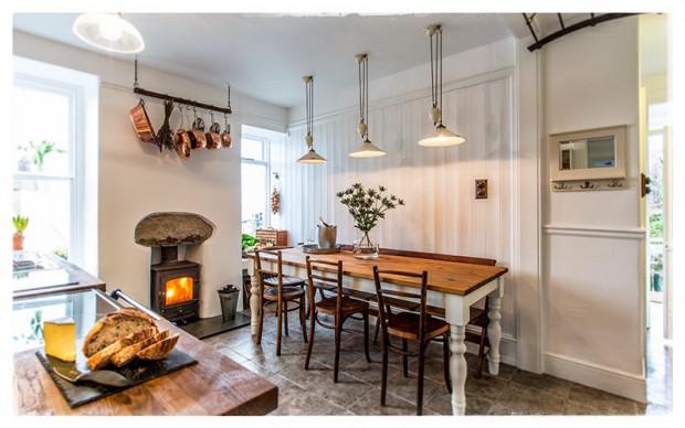 Beautiful pale kitchen