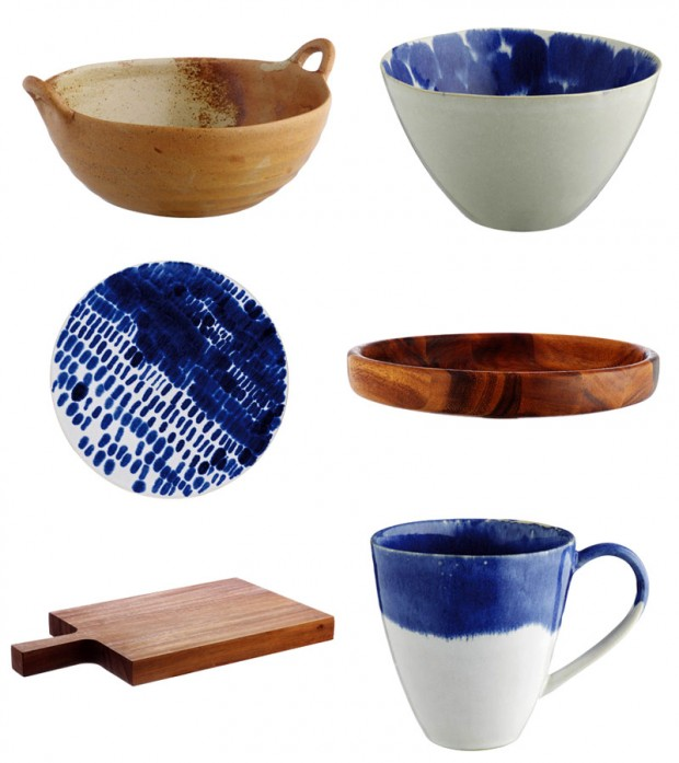 Indigo home accessories