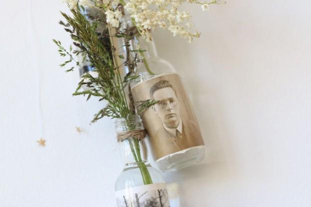 Tiny glass vase
