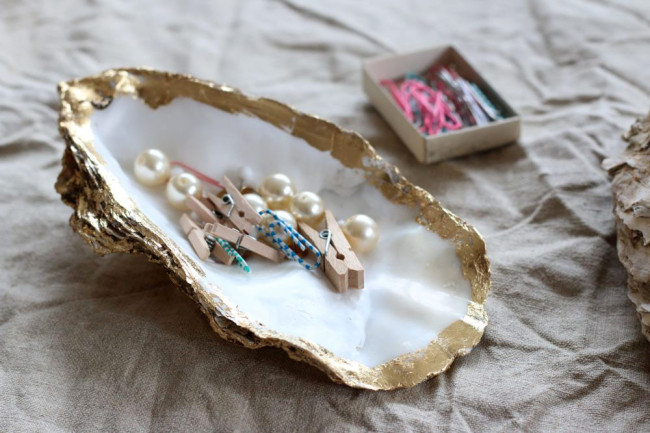 Shell soap dish DIY