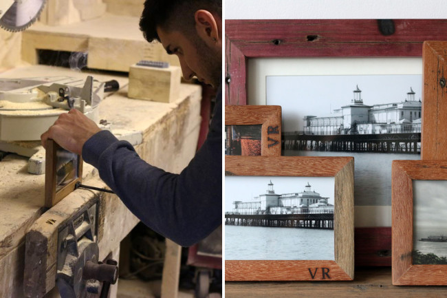 Handmade picture frames