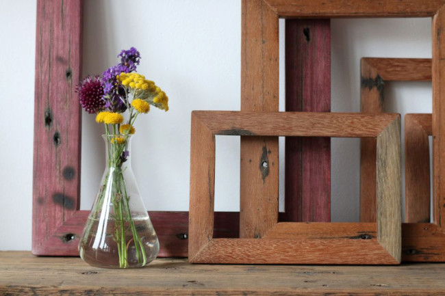 Hastings Pier Reclaimed wood Picture frame