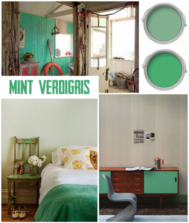 Interior Paint guide Green