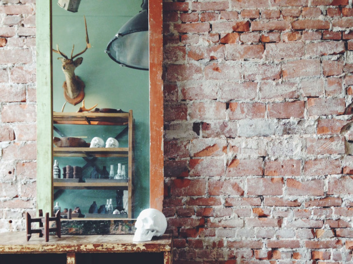 Raw Materials vintage interior decor Amsterdam