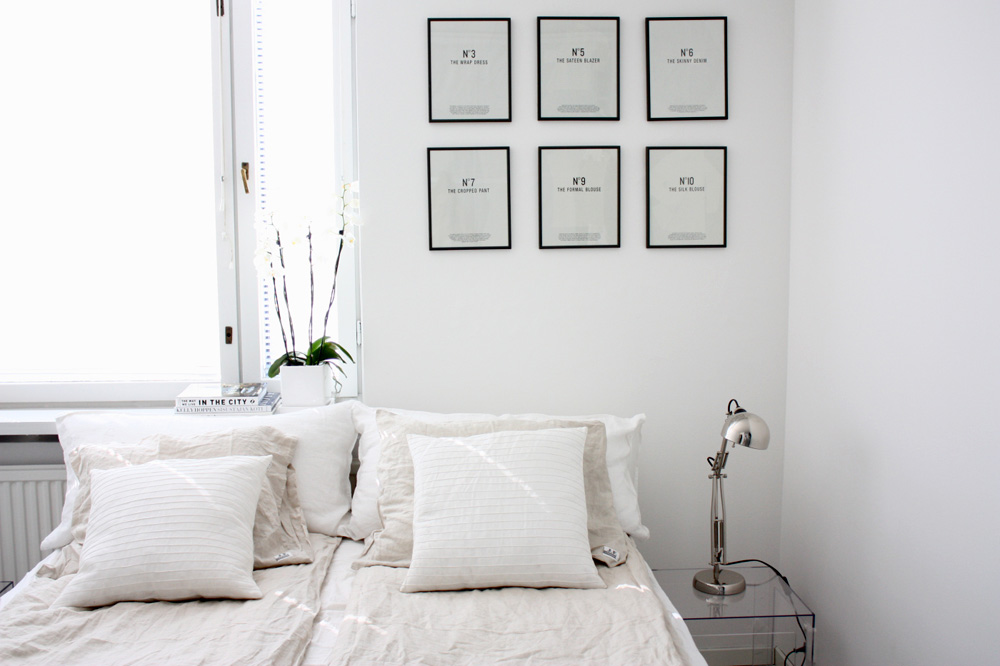 Pale bedroom inspiration for the last days of summer for Pictures of bed rooms