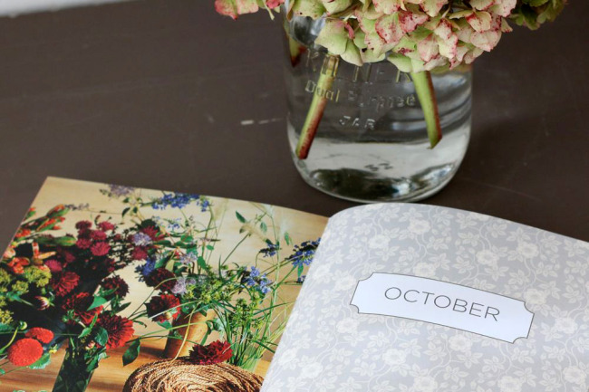 October garden planning