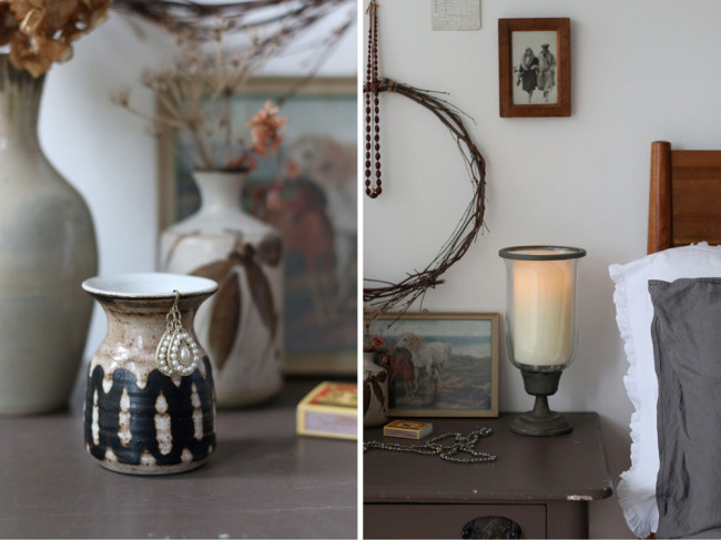 styling with vintage ceramics