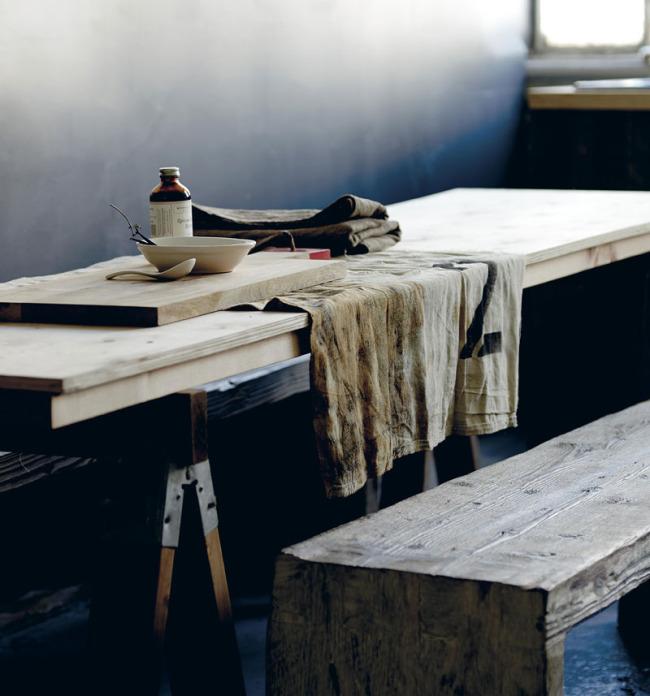 Rustic wabi sabi kitchen details