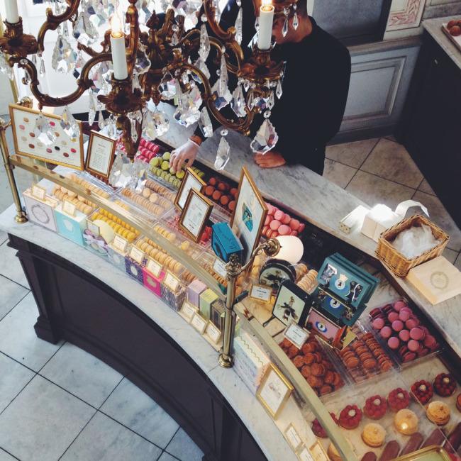 Ladurée Macarons Covent Garden