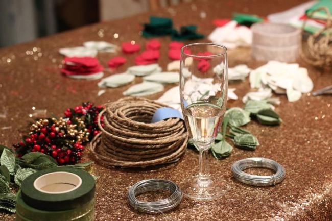Laura Ashley Christmas crafts