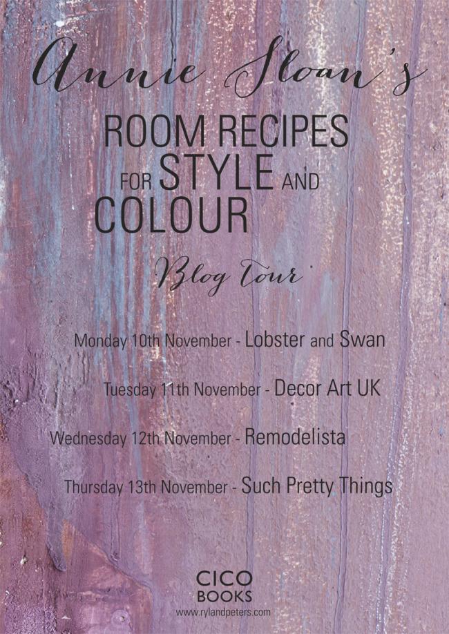 Annie Sloan Room Recipes book tour
