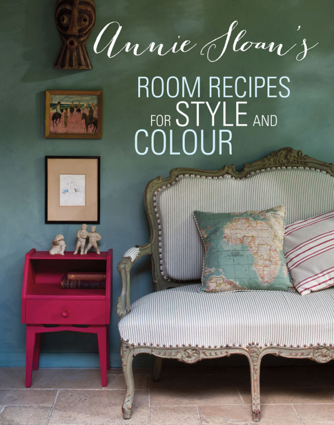 New book Annie Sloan Room Recipes