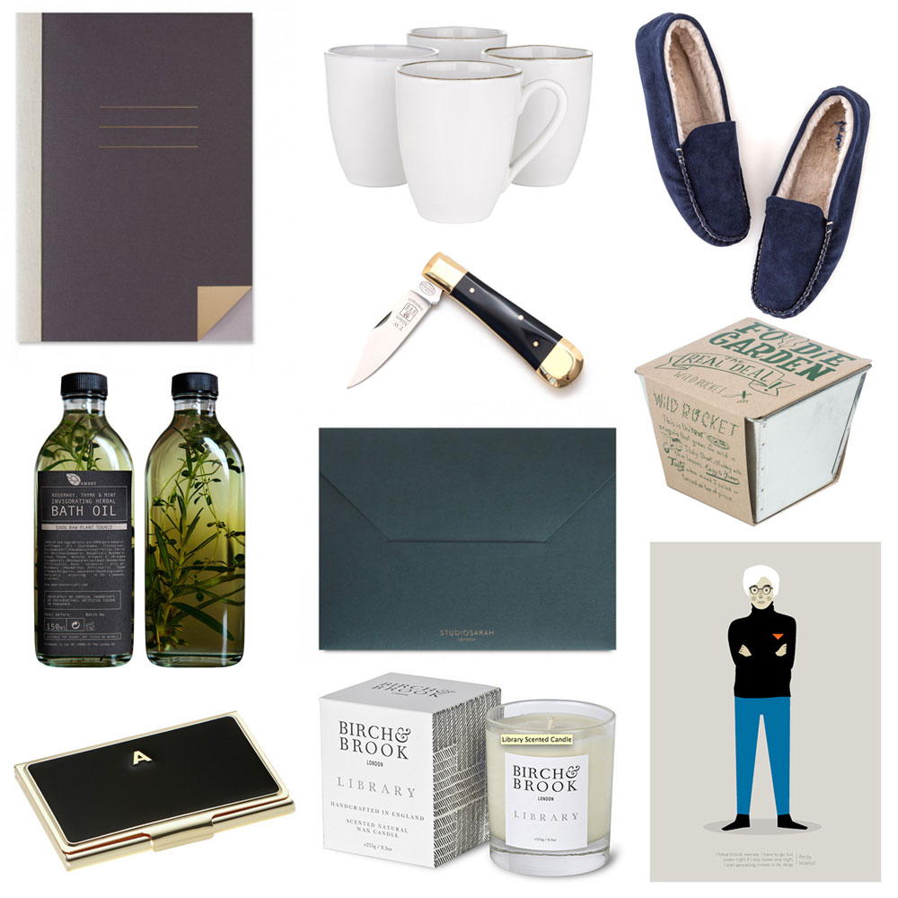 Christmas gift guide for him 2014