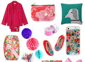 pink gift guide Christmas 2014