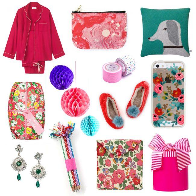 pink gift guide Christmas 2014
