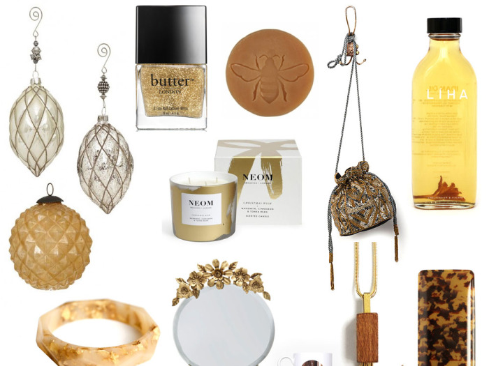 Gold Christmas gift guide