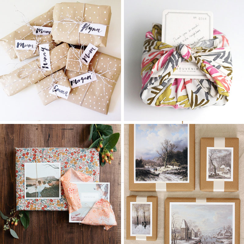 Beautiful gift wrappng ideas