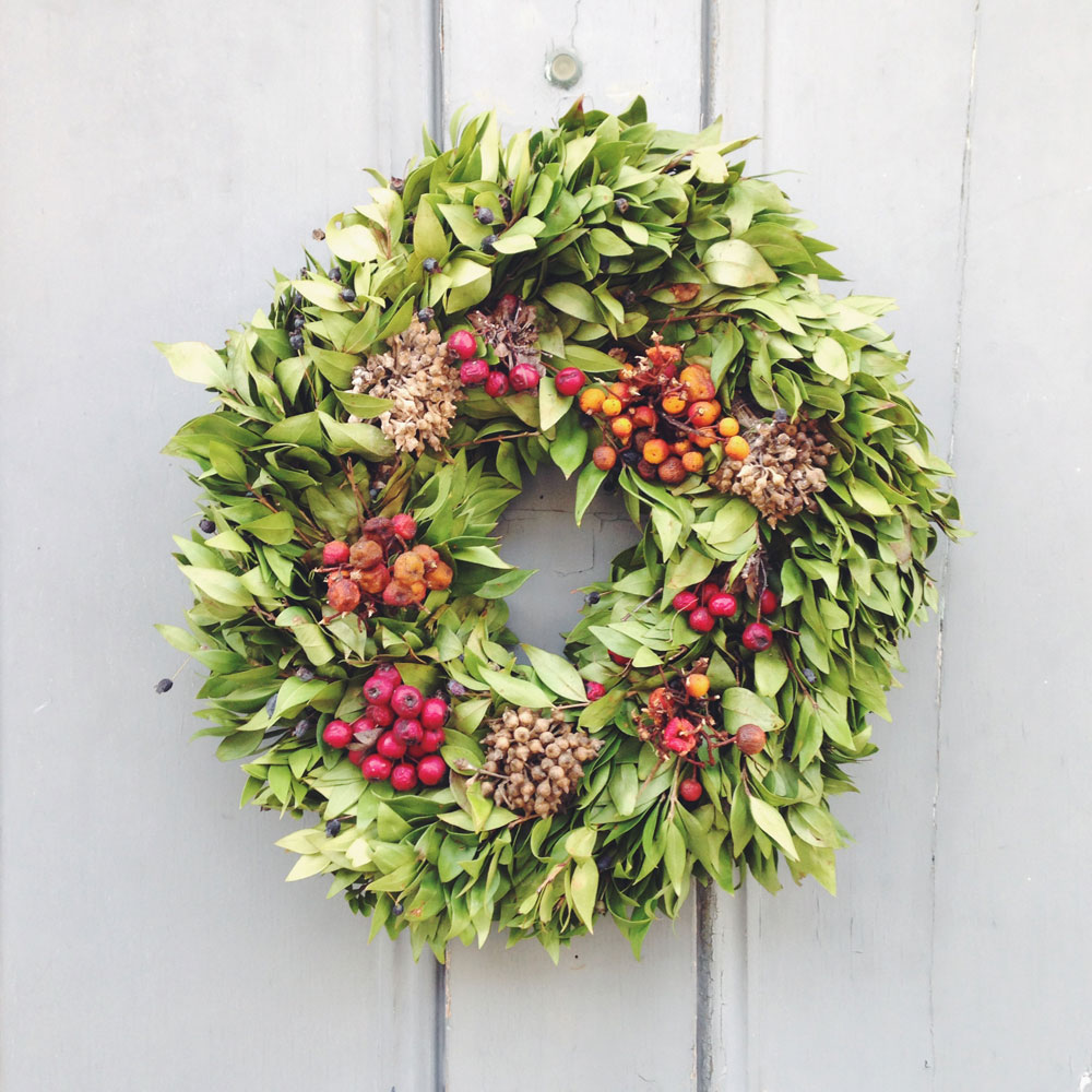 christmas wreath inspiration lobster and swan