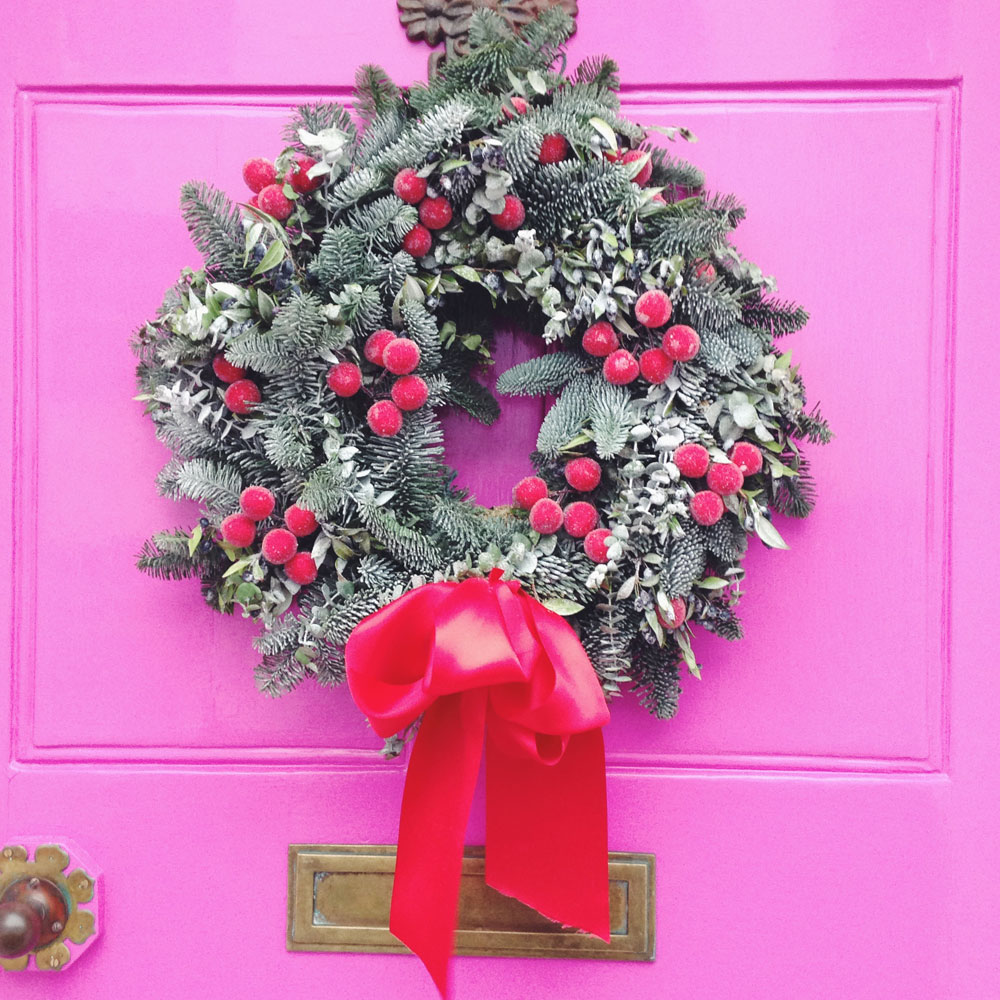 CHRISTMAS WREATH INSPIRATION - Lobster and Swan