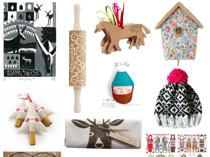 Christmas gift guide 2014 Folksy