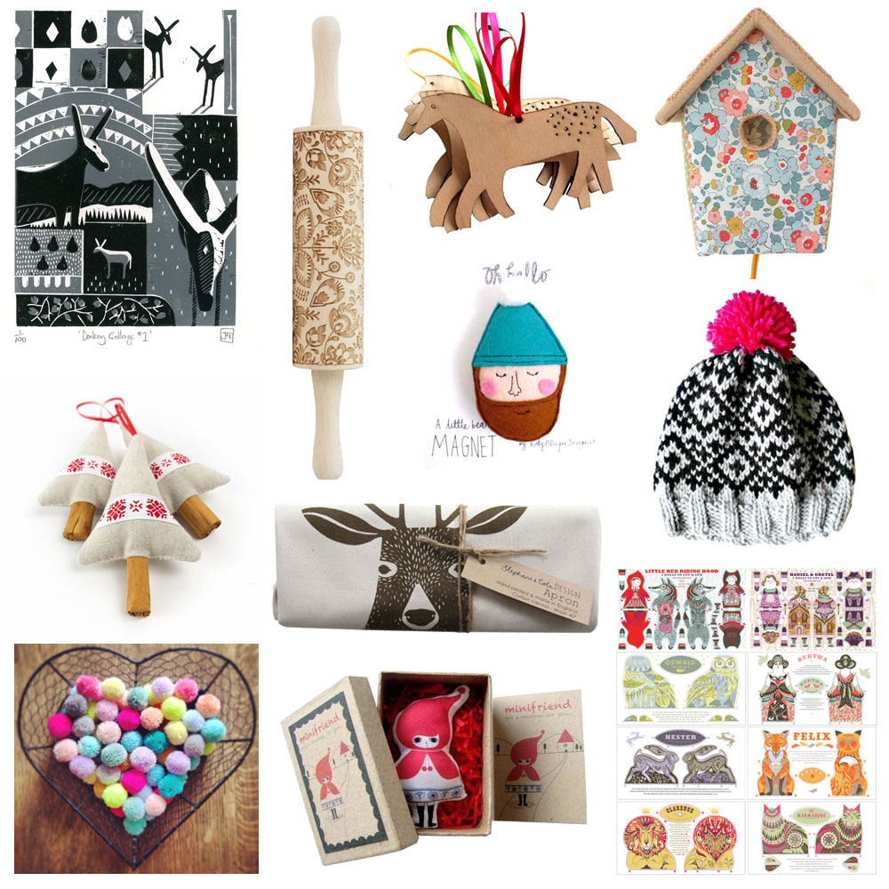 Christmas gift guide 2014 Folksy