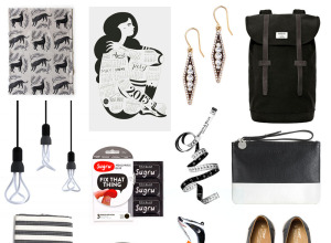 monochrome christmas gift guide 2014