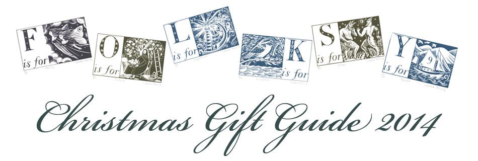 Folksy christmas gift guide 2014