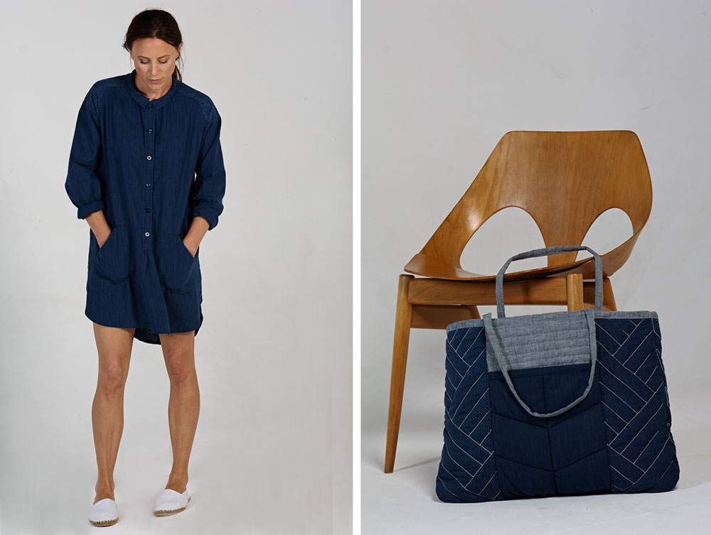indigo and denim by Sideline