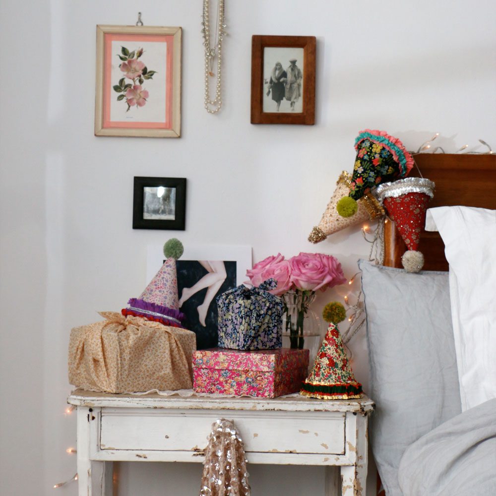 Decorating with Liberty fabrics