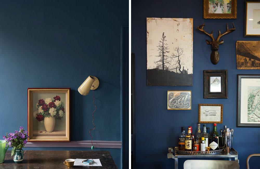navy blue decor inspiration