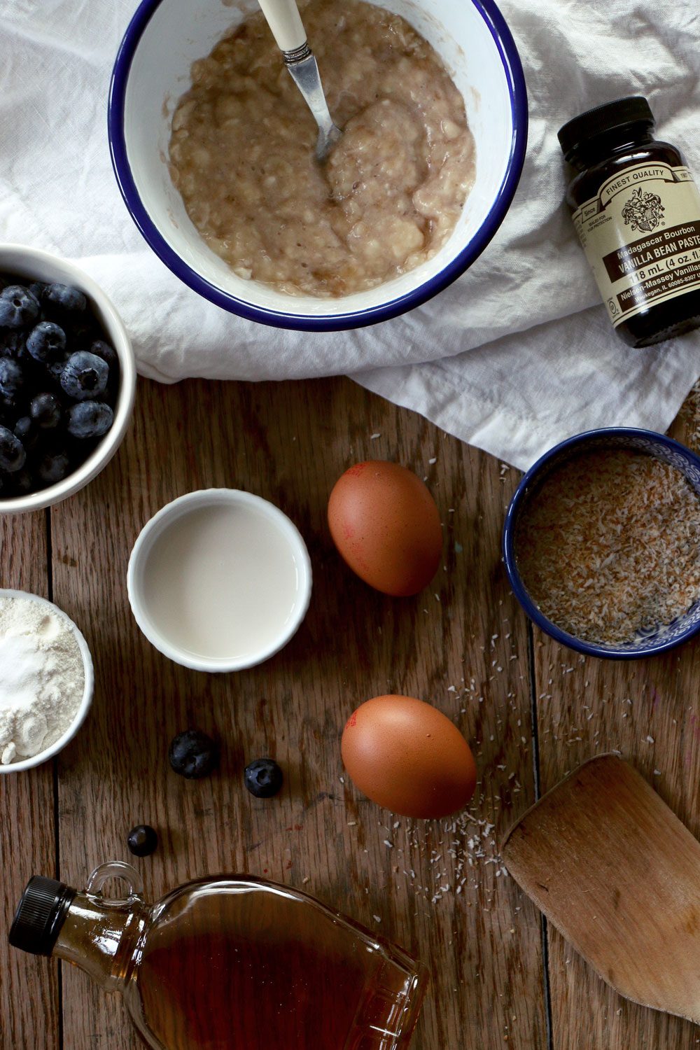 Healthy Blueberry pancake recipe