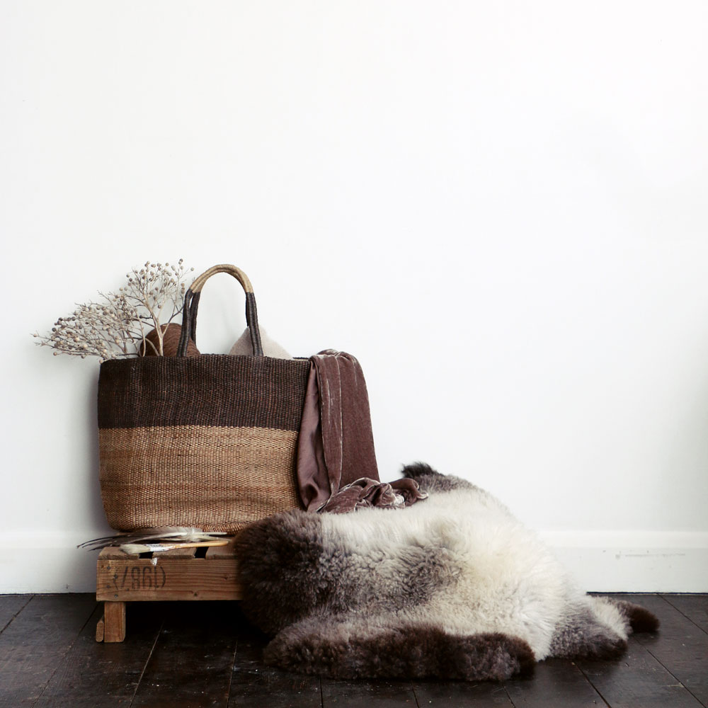 Beautiful hand woven baskets