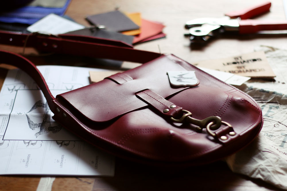 Luxury leather goods Hand made in the UK
