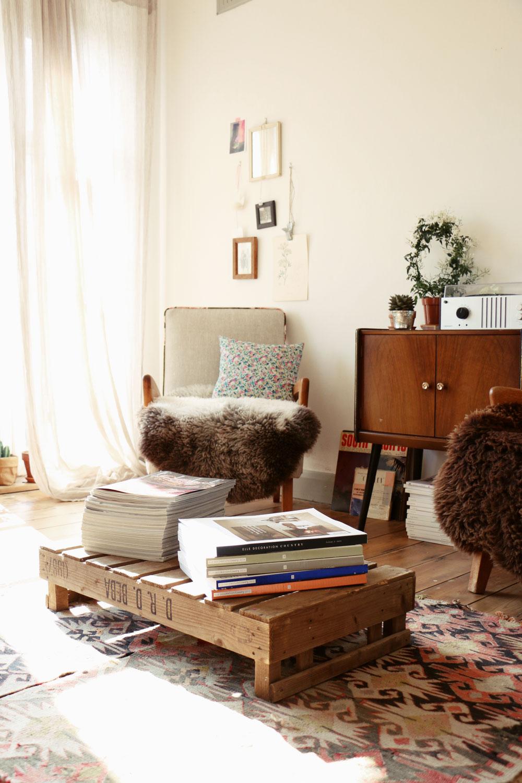 interior details vintage furniture