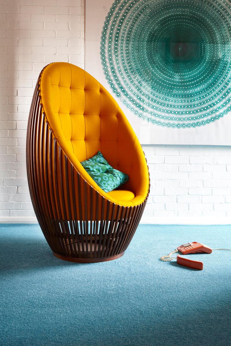 Carousel Twist Turquoise Carpet