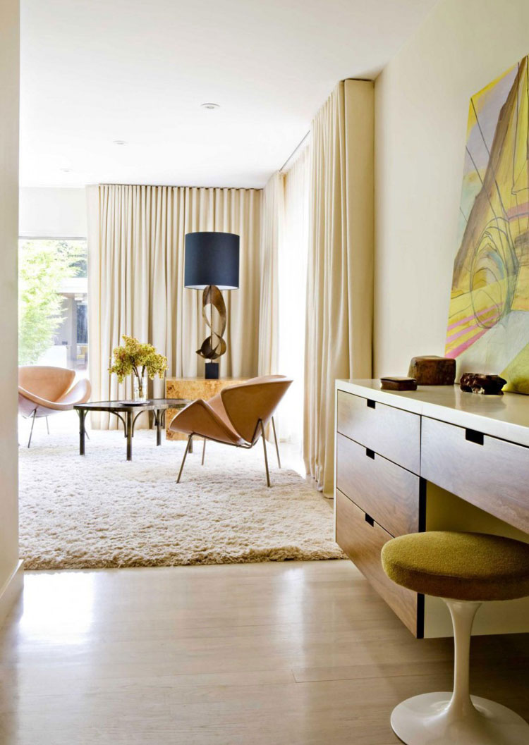 MID CENTURY MODERN BEDROOM INSPIRATION - Lobster and Swan