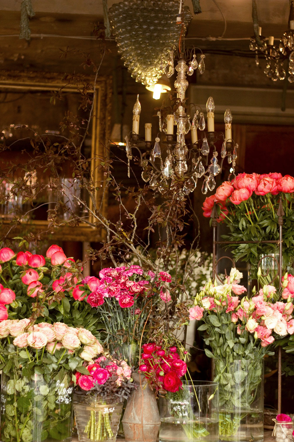 Top 5 Paris Flower Shops Spring In The City Lobster And Swan