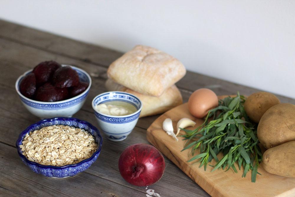 Gousto beet burgers recipe