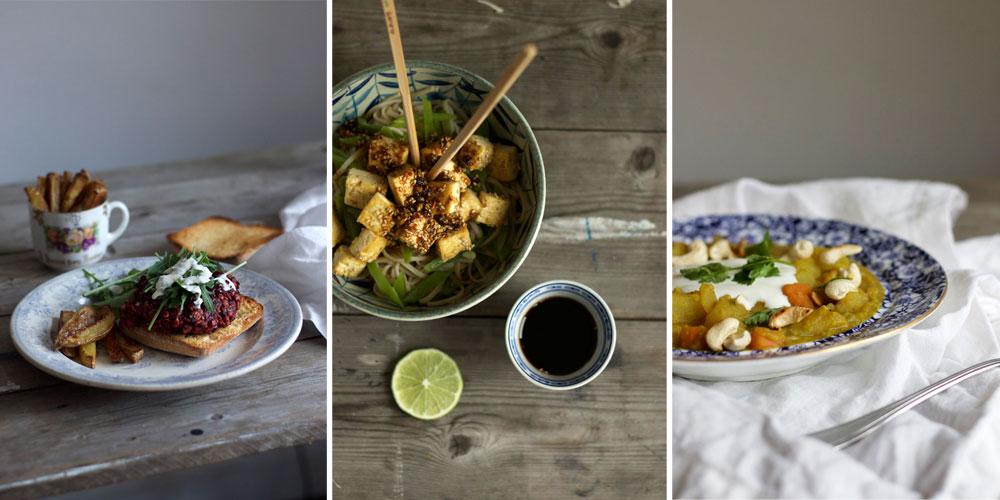 Gousto vegetarian recipe box review