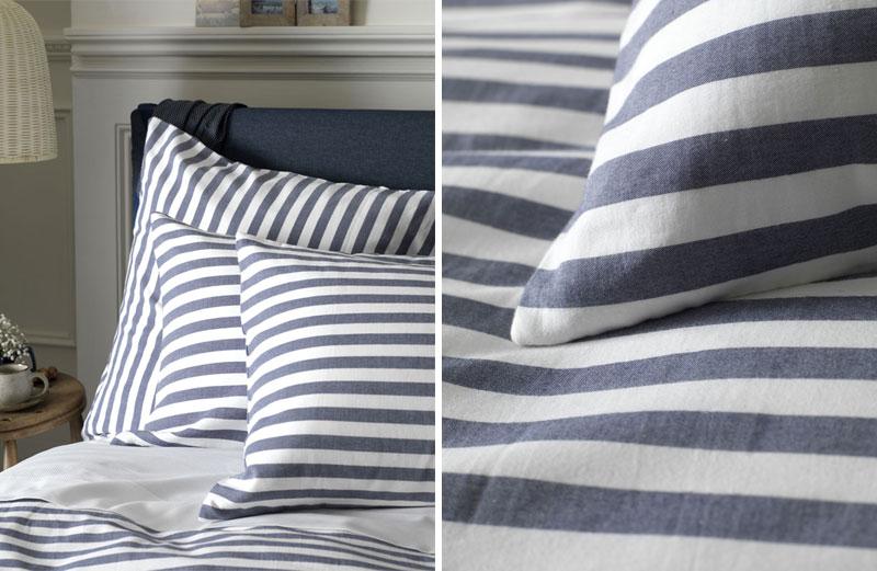 Striped bedding UK