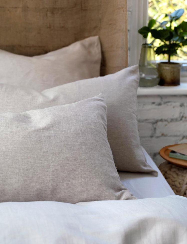Natural Linen bedding UK