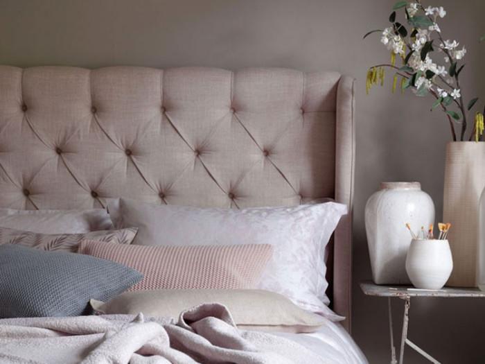 Delicate Rose patterned luxury bedding UK