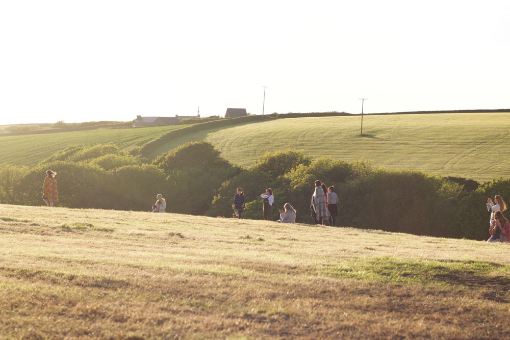 Sisterhood Camp 2015 Golden Hour North Devon