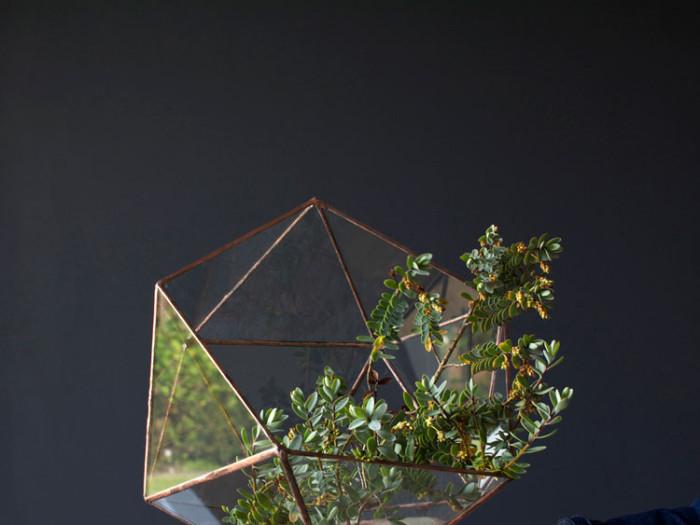 handmade Copper terrarium
