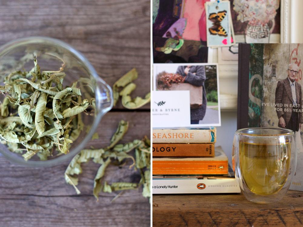 Lemon Verbena leaf tea by Jing